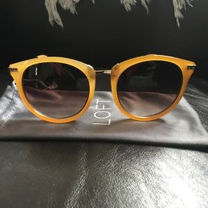 Yellow Festival Sunglasses with Case